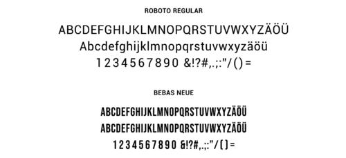 BL HEIMAT Font