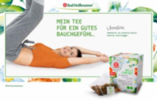Belly Comfort Functional Tea Anzeige